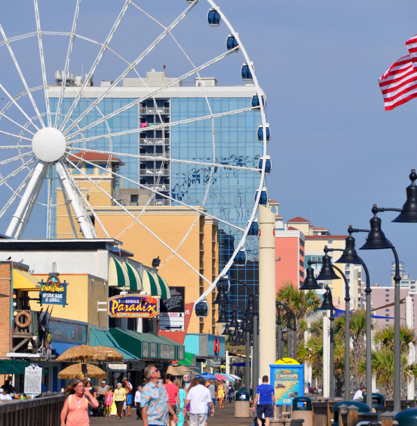 Thing to do: Myrtle Beach Boardwalk