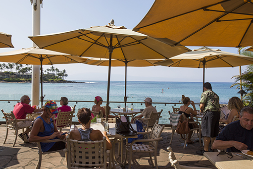 Maui Happy Hour at Sea House