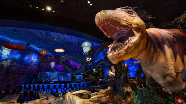Kid-friendly restaurant in Orlando: T-REX