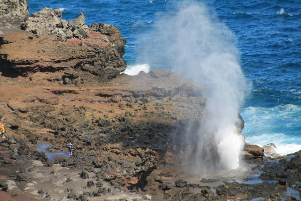 Maui adventure: Nakalele Blowhole