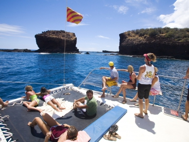 Maui adventure: Sail to Lanai for a day