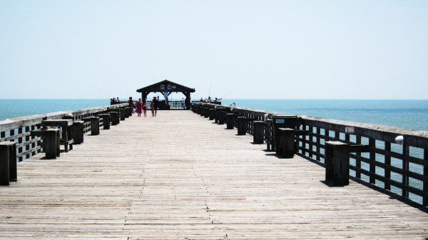 Off the beaten path in Myrtle Beach: Fishing at Myrtle Beach State Park Piers